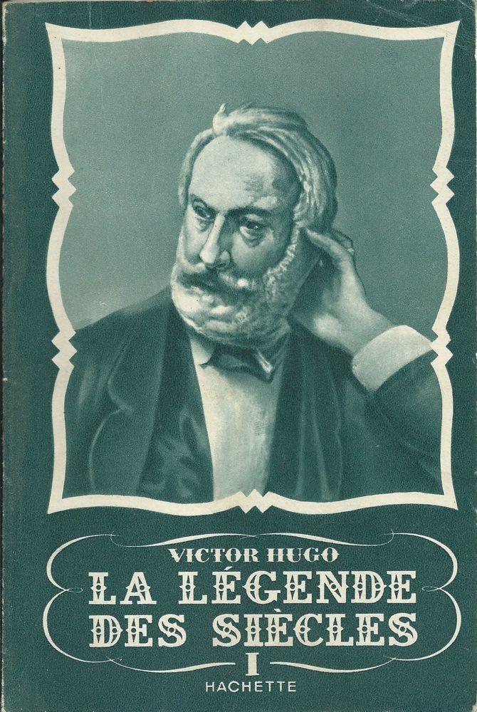 1 livre , la légende des siècles v hugo 1950  8 Tours (37)