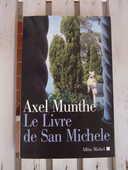 Livre  Le livre de San Michele  d'Axel Munthe 12 Tassin-la-Demi-Lune (69)