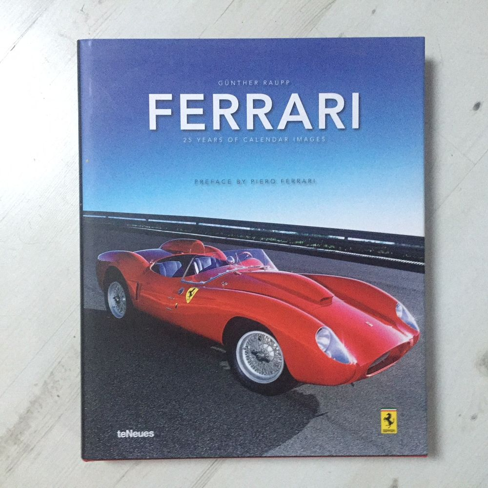Livre Luxe Ferrari The Book Xxl