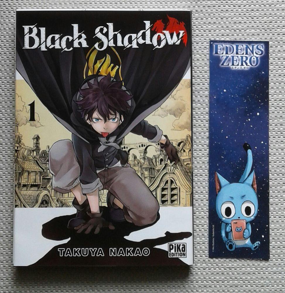 "Livre manga ""Black Shadow"" + 1 marque page Livres et BD"
