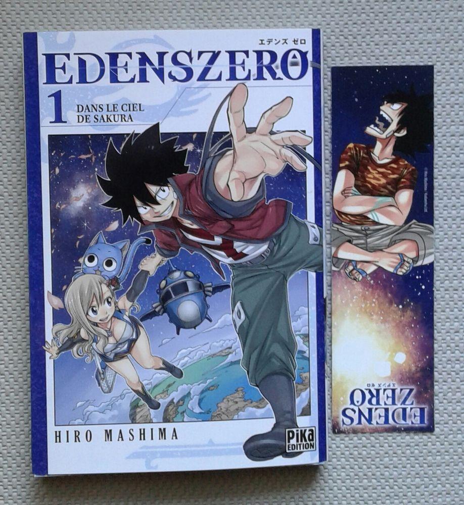 livre manga  Edenszero  + 1 marque page Edens Zero 4 Cramont (80)