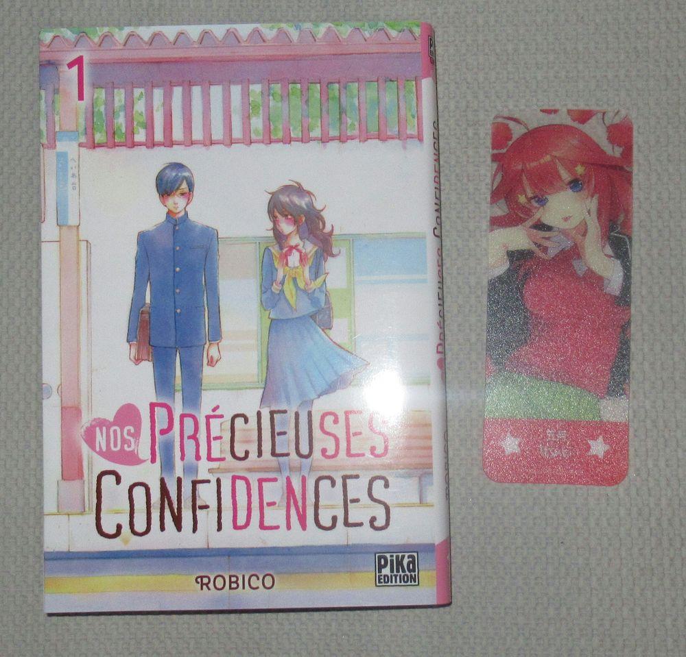 livre manga  Nos précieuses confidences  4 Cramont (80)