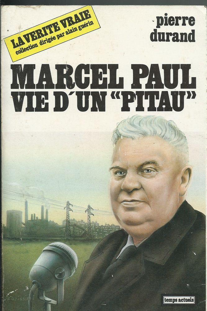 livre , marcel paul vie d'un * pitau * Livres et BD
