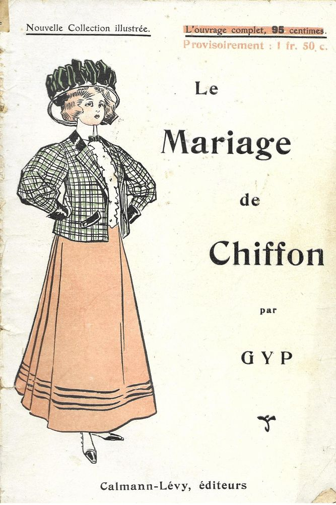 1 livre , le Mariage de Chiffon , Gyp Livres et BD