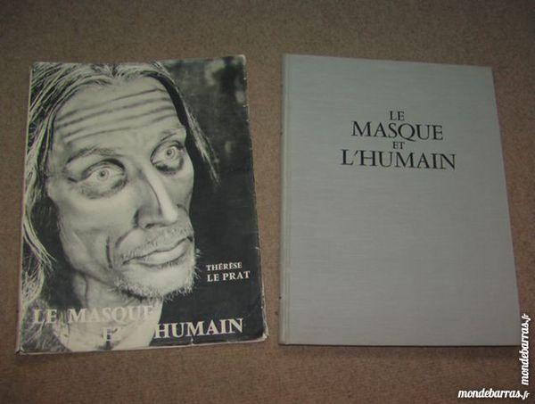 Livre «le masque et l'humain» 80 Aixe-sur-Vienne (87)