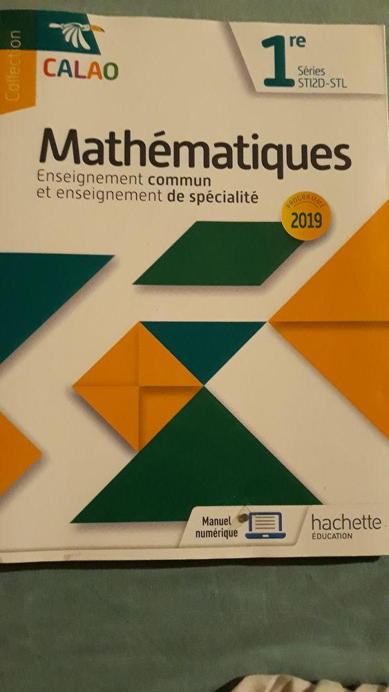 livre de mathématiques 1re Série STI2D-STL 15 Le Robert (97)