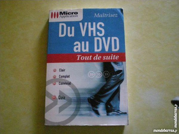 LIVRE MICRO APPLICATION « DU VHS AU DVD » 2 Saleilles (66)