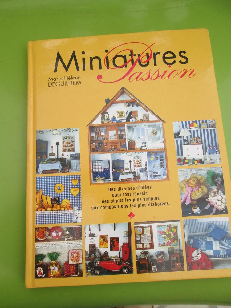 Livre  Miniatures passion  de Marie Hélène Deguilhem 13 Goussainville (95)