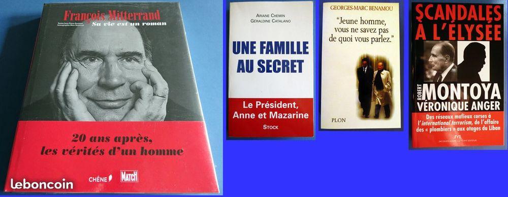 Livre F. Mitterrand Scandales Famille au secret 2 Maisons-Alfort (94)