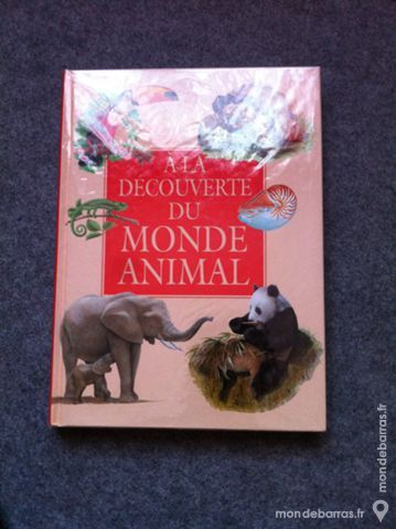 Livre Le monde animal 3 Angers (49)