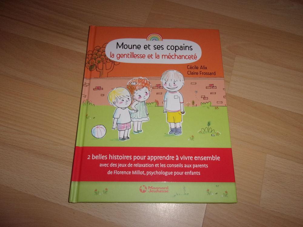 Livre Moune et ses copains: la gentillesse et la méchanceté Livres et BD