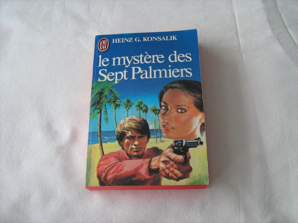 Livre le mystère des Sept Palmiers 2 Cannes (06)