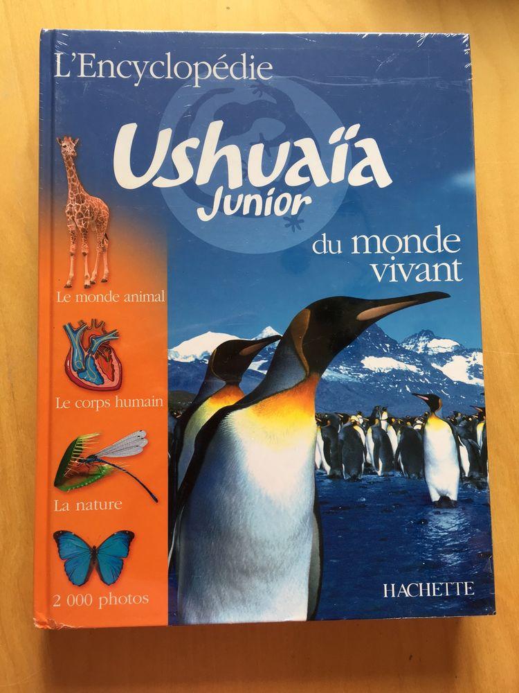 Livre neuf   L'Encyclopédie USHUAIA Junior du monde vivant   20 Gennevilliers (92)