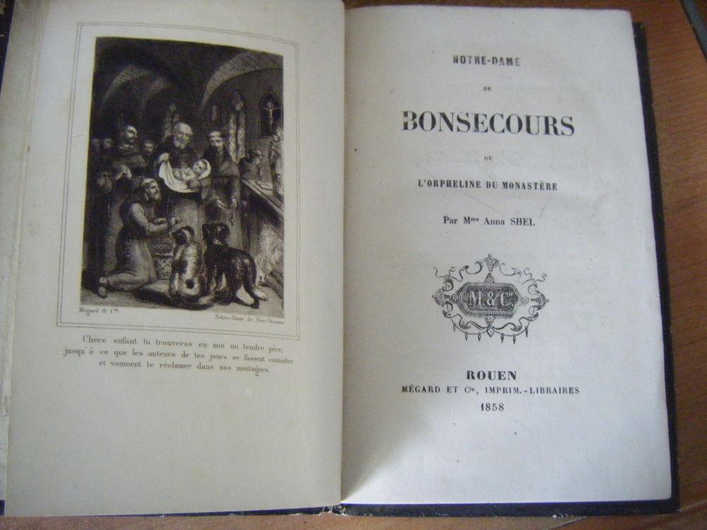 Livre Notre Dame de Bon Secours 1858 10 Saint-Yrieix-la-Perche (87)