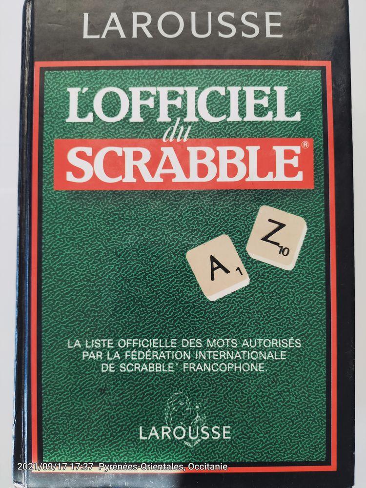Livre L'Officiel du Scrabble de Larousse-Bordas édition 1997 6 Canet-en-Roussillon (66)