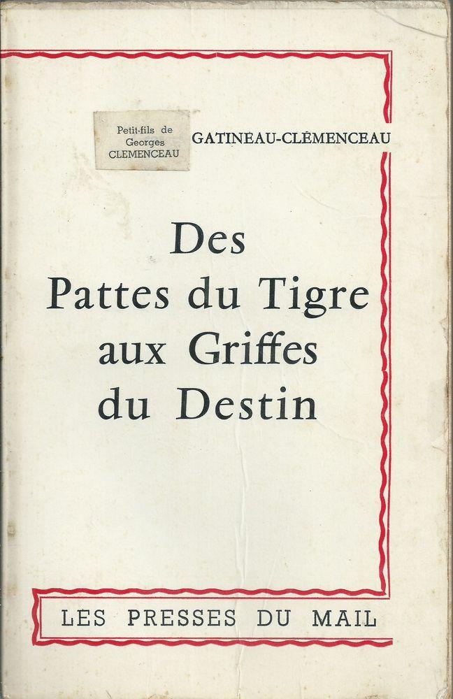 livre des pattes du tigre aux griffes du destin 1961 8 Tours (37)