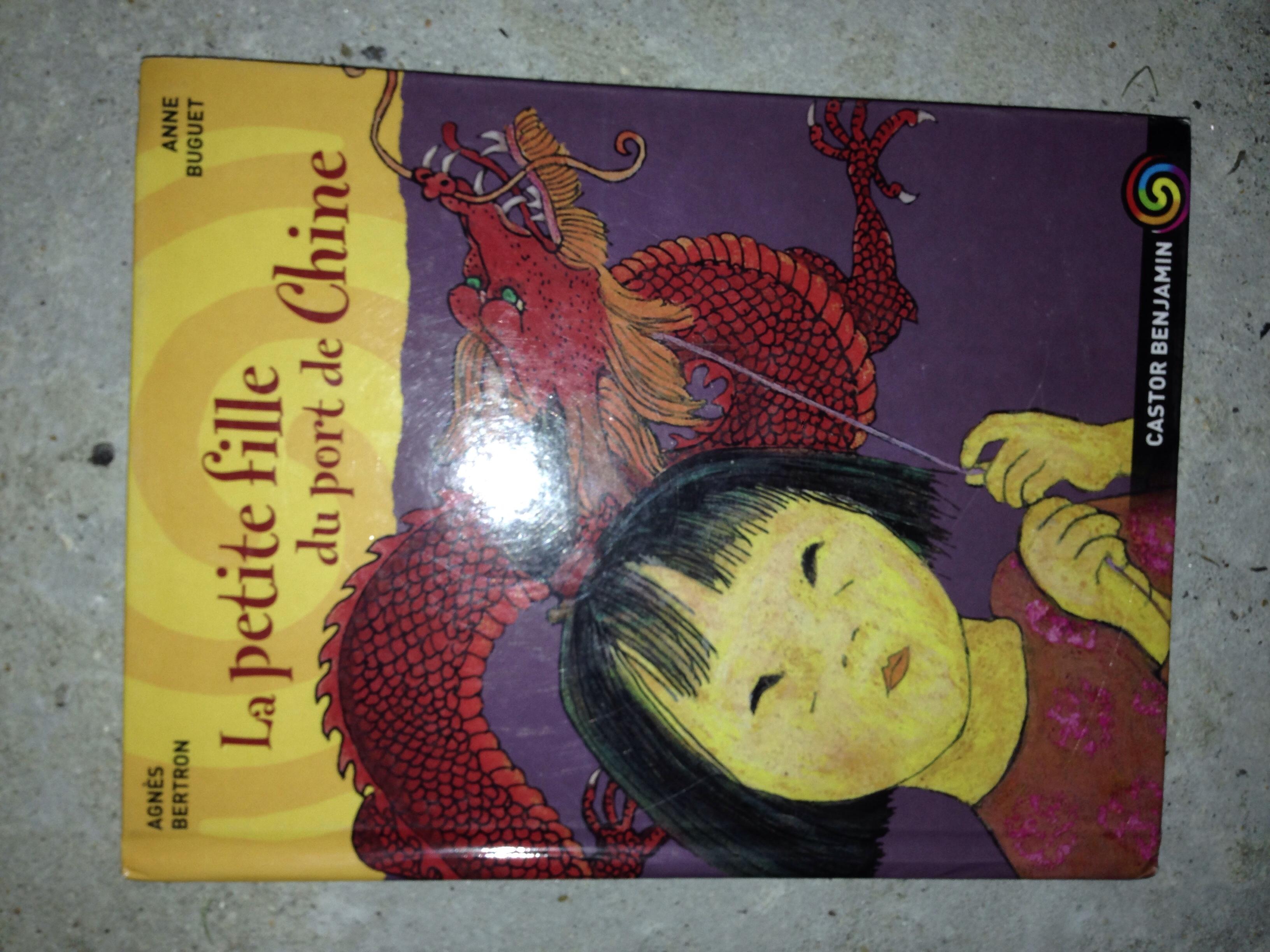 livre la petite fille du port de Chine 2 Valmondois (95)