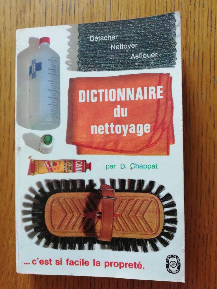 Livre de poche - Dictionnaire du nettoyage Livres et BD