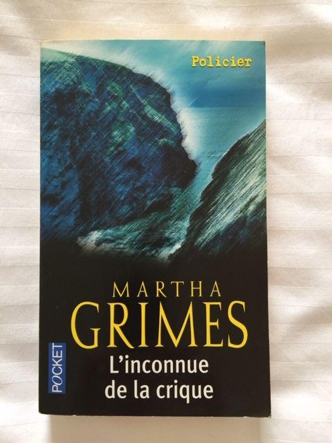Livre poche : L'inconnue de la crique de Martha Grimes 2 Saulx-les-Chartreux (91)