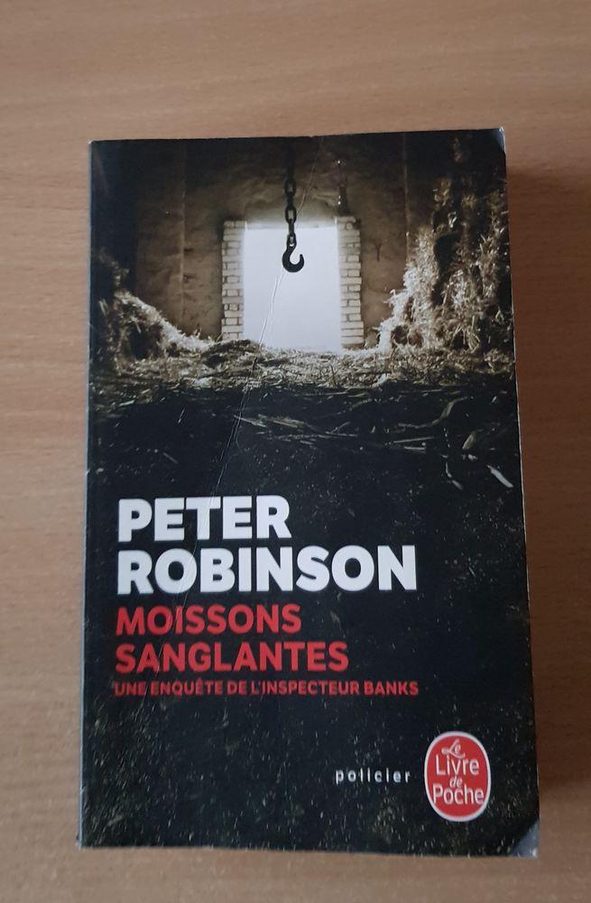 Livre policier  moissons sanglantes Peter Robinson 2 Carnon Plage (34)