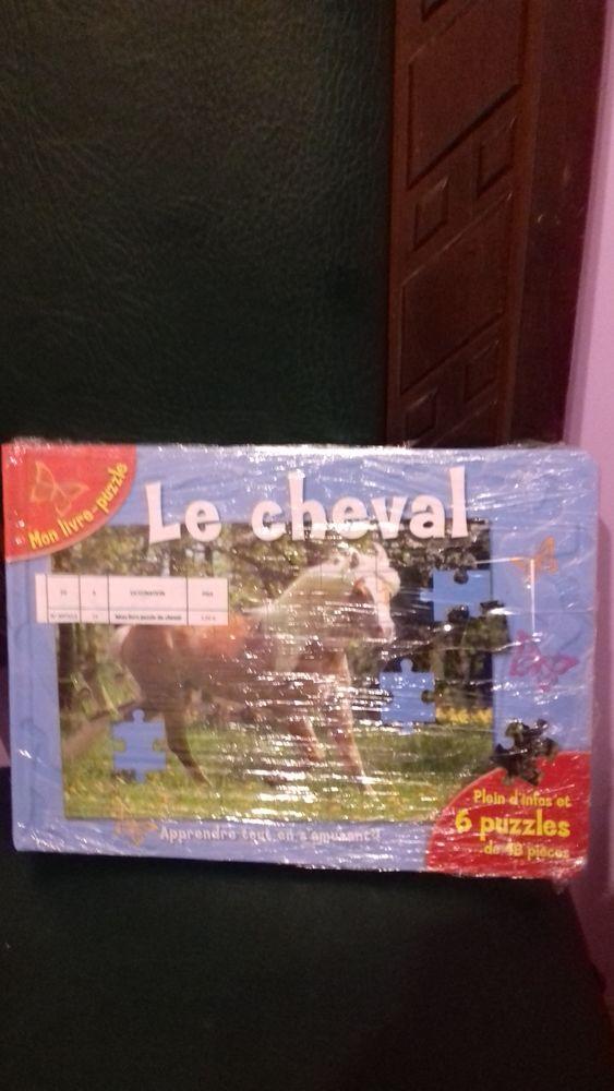 livre puzzle  cheval  5 Oudon (44)