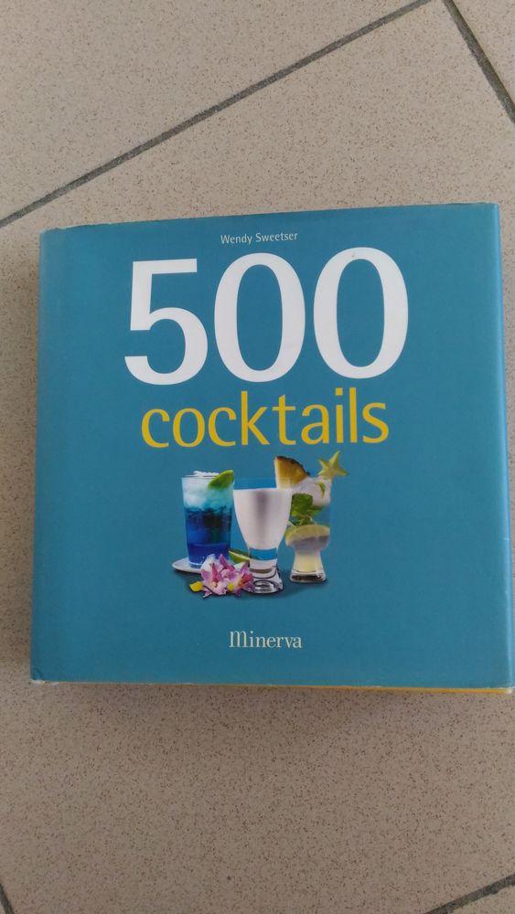 Livre de recette   500 cocktails    6 Savigny-sur-Orge (91)