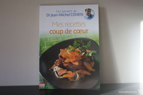 livre de recette du DR JM Cohen 5 La Verdière (83)