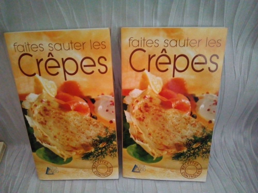 Livre de recettes   Faites sauter les crêpes   - 3 Savigny-sur-Orge (91)