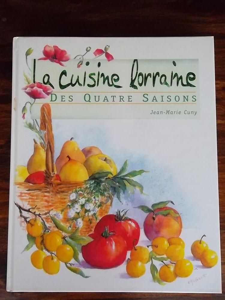 Livre de recettes de Lorraine par J.M. CUNY 10 Tonnoy (54)
