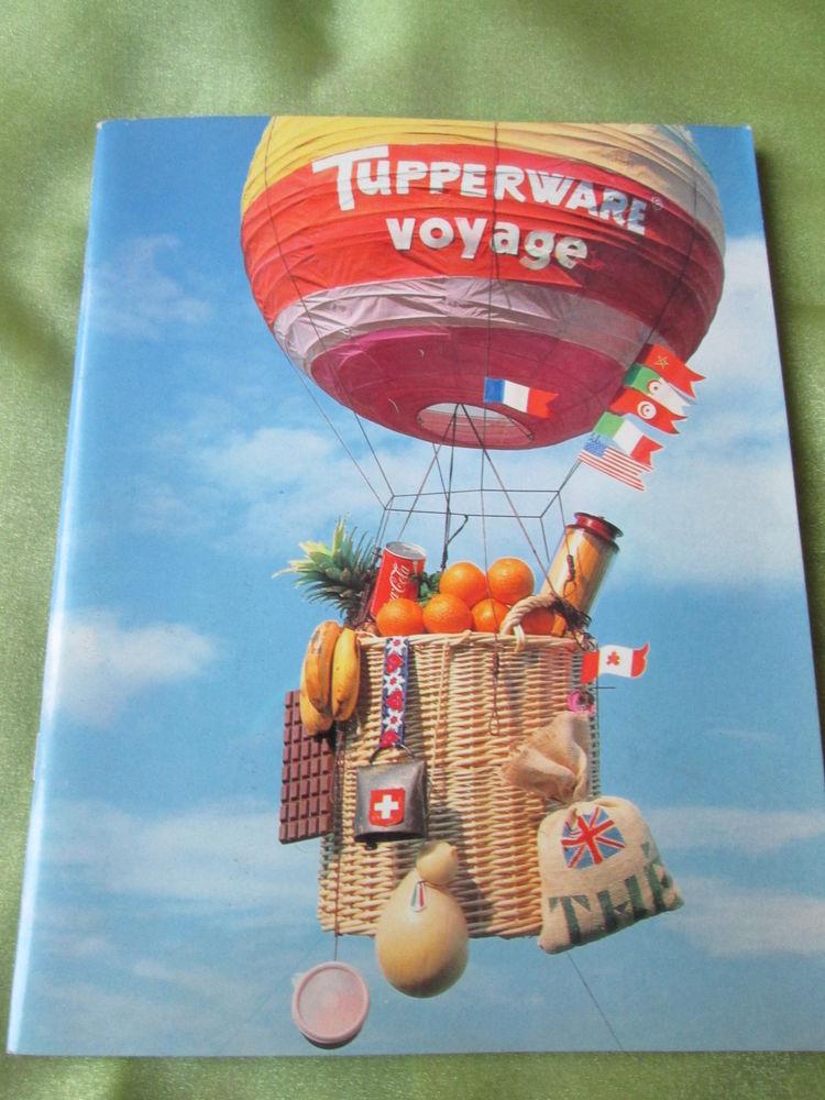 Livre de recettes   Tupperware Voyage    6 Goussainville (95)