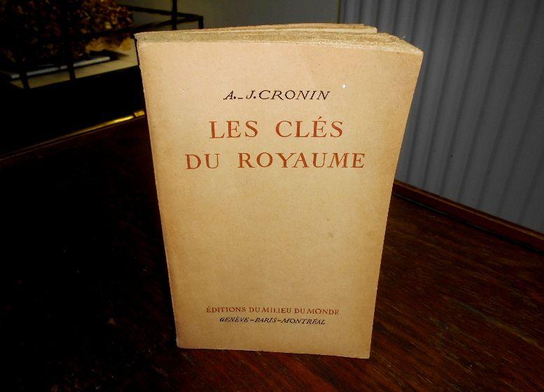 Livre Relie Broche Les Cles Du Royaume A J Cronin