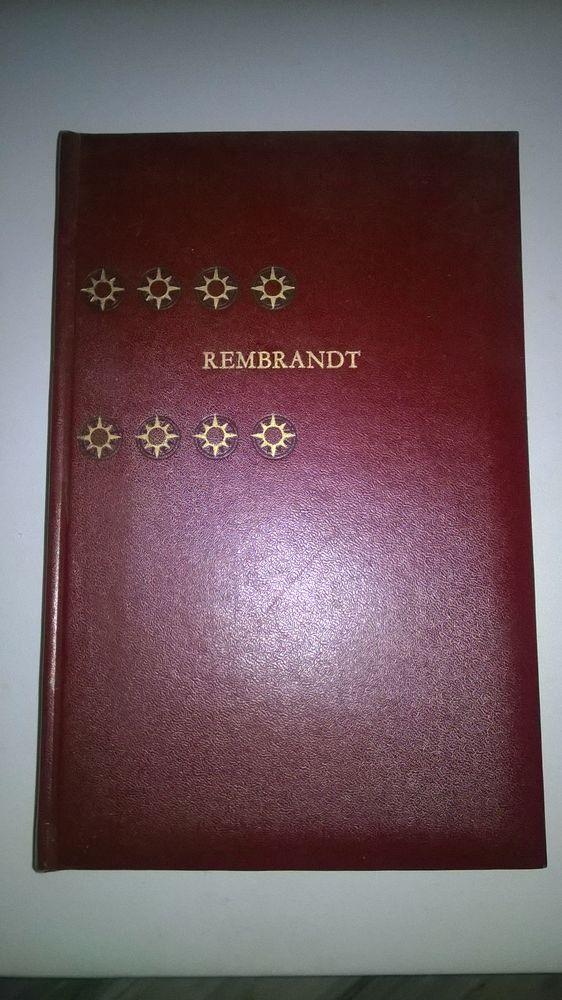 Livre sur Rembrandt  Edition Hachette  1972  Imprime dans 29 Talange (57)