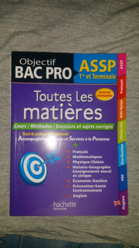 Livre révision bac pro assp 10 Éragny (95)
