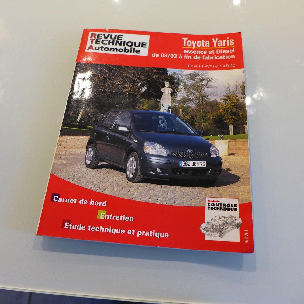 Livre Revue technique Automobile Toyota Yaris 5 Istres (13)