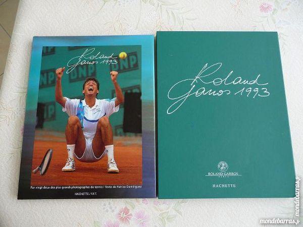 Livre Roland Garros 1993 avec coffret - N E U F 20 Montigny-le-Bretonneux (78)