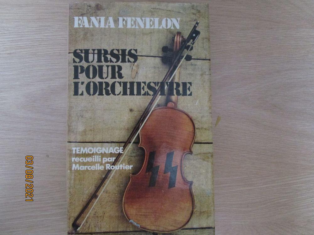livre roman  sursis pour l'orchestre  de FANA FENELON 5 Chanteloup-en-Brie (77)