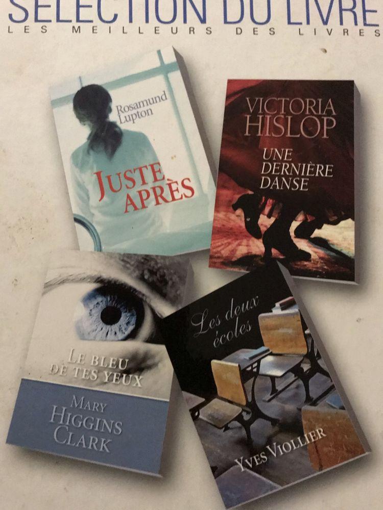 1 livre + 4 romans  SELECTION DU LIVRE 6 Saint-Genis-Laval (69)