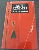 Livre de Ruth Rendell  Jeux de mains  7 Beauvoir-sur-Mer (85)