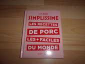 Livre Simplissime Les recettes de porc (Neuf) 4 Ardoix (07)