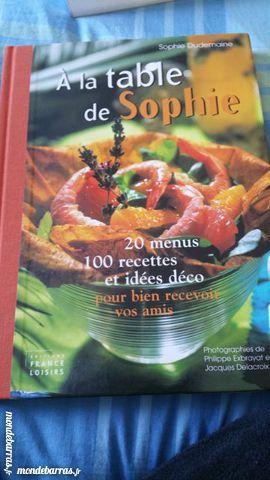 Livre «A la table de Sophie» 5 Ambès (33)