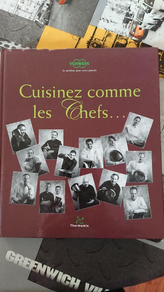 Livre Thermomix TM31  Cuisinez comme les chefs...  10 Nantes (44)