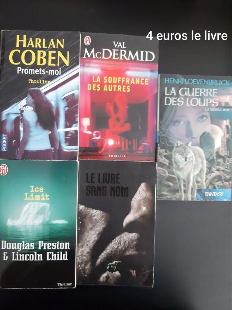Livre thriller 5 Bondy (93)
