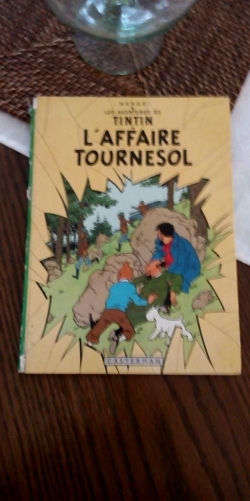 Livre tintin L'Affaire Tournesol 1966 20 Golbey (88)
