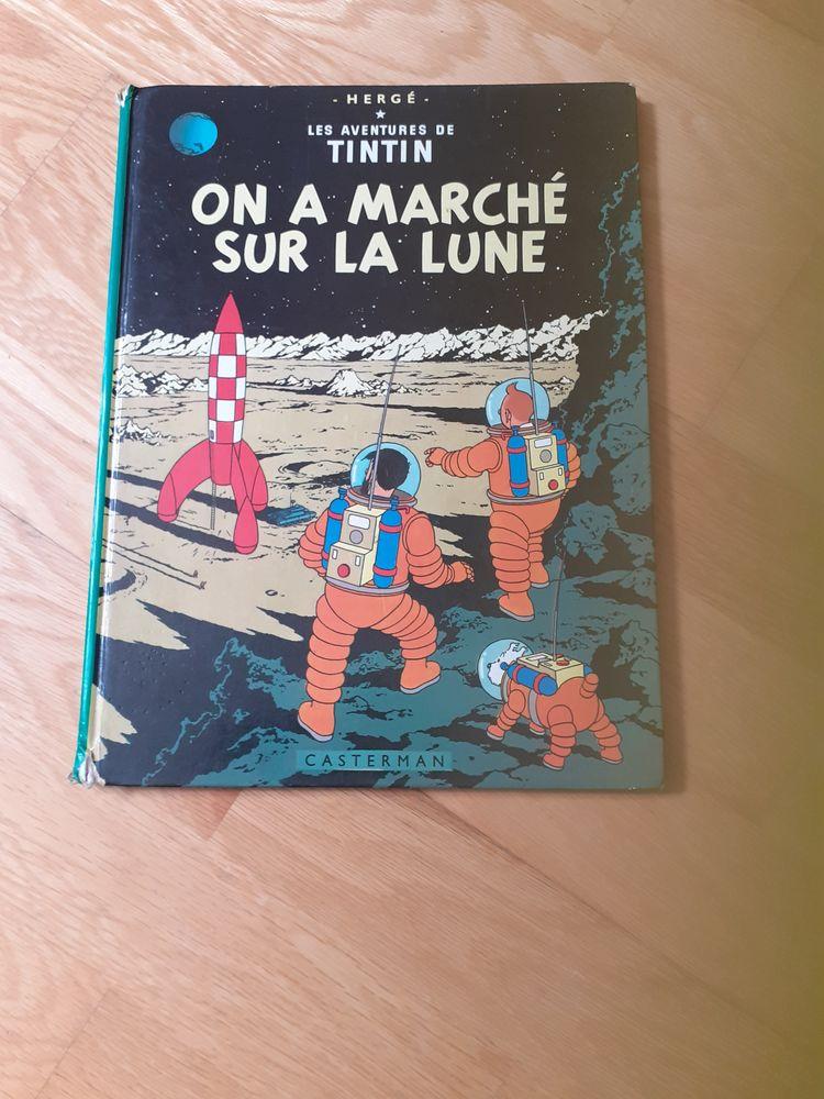 livre de tintin  15 Montigny-le-Bretonneux (78)