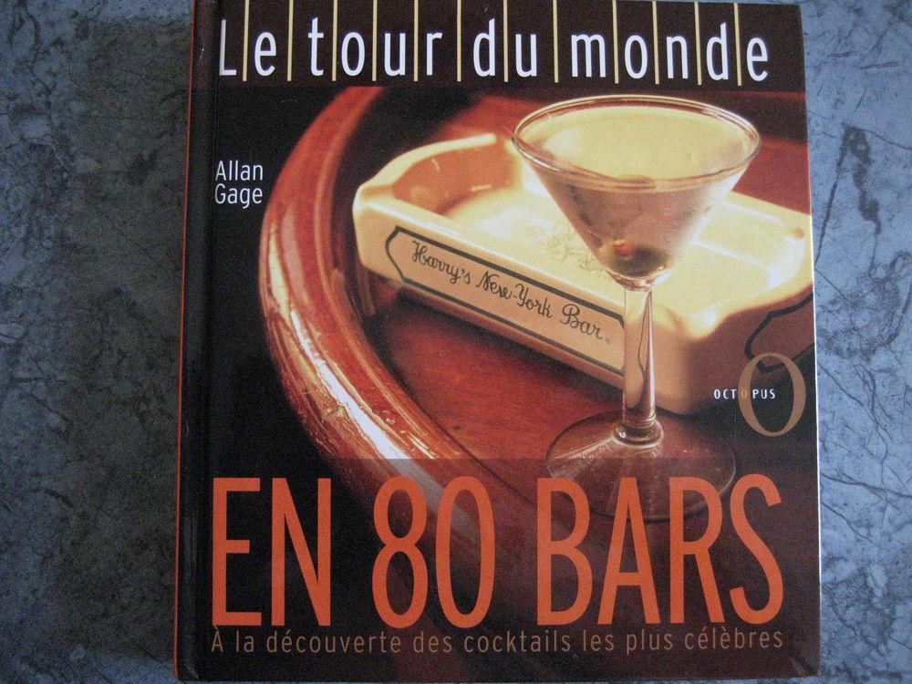 Livre   LE TOUR DU MONDE EN 80 BARS    5 Reims (51)