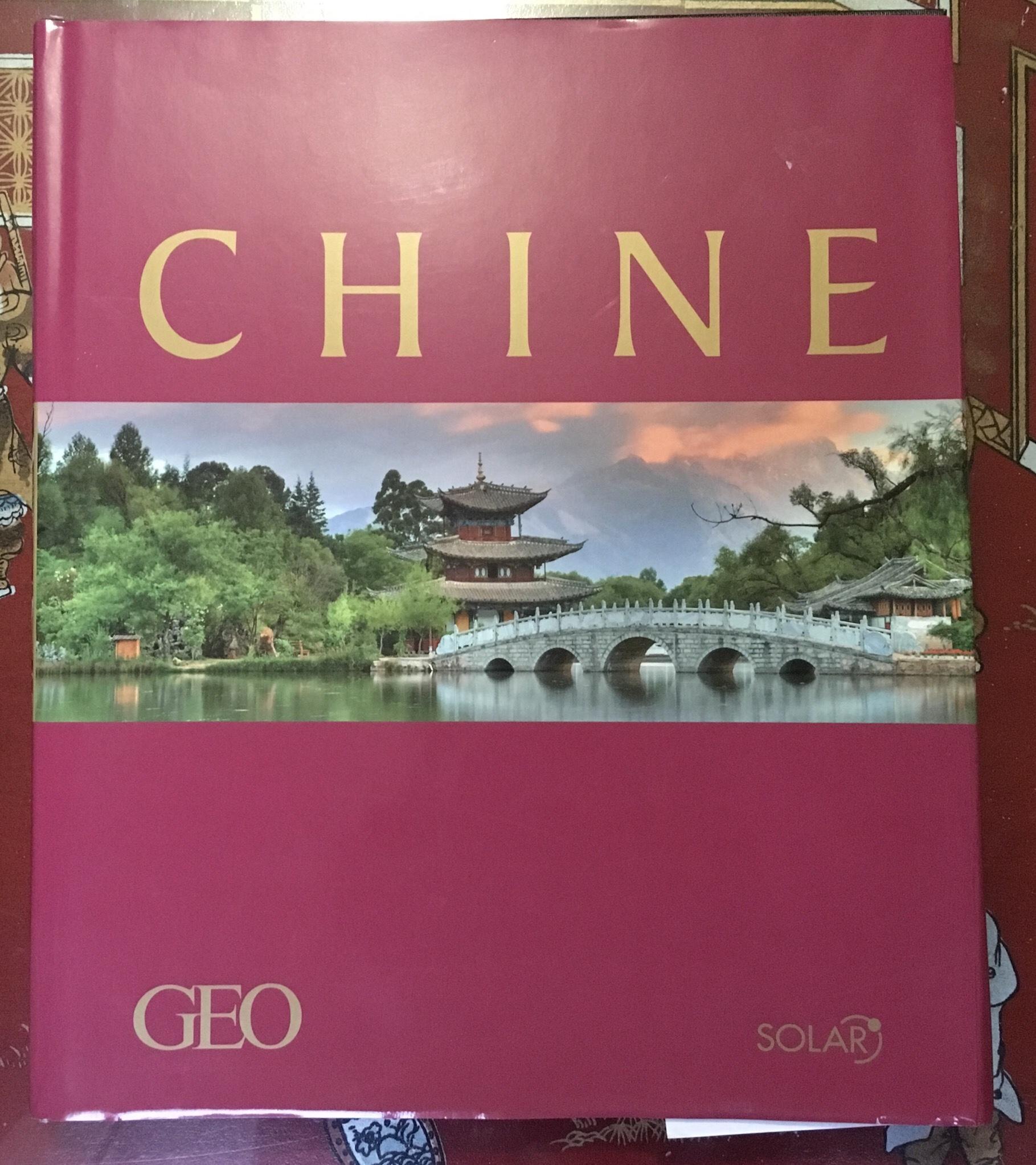 livre sur toute la Chine 12 Compiègne (60)