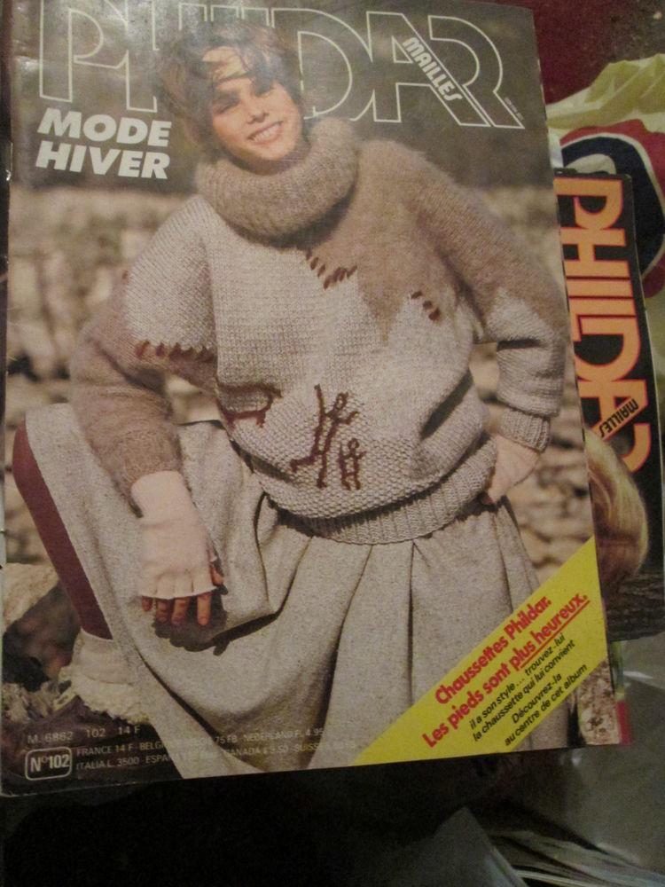Livre Tricot  Phildar   Vintage  ,n°102 , Mode Hiver ,  3ème 12 Goussainville (95)