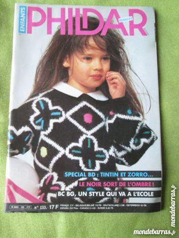 Livre tricots Phildar Enfants BD tintin et Zorro 7 Goussainville (95)