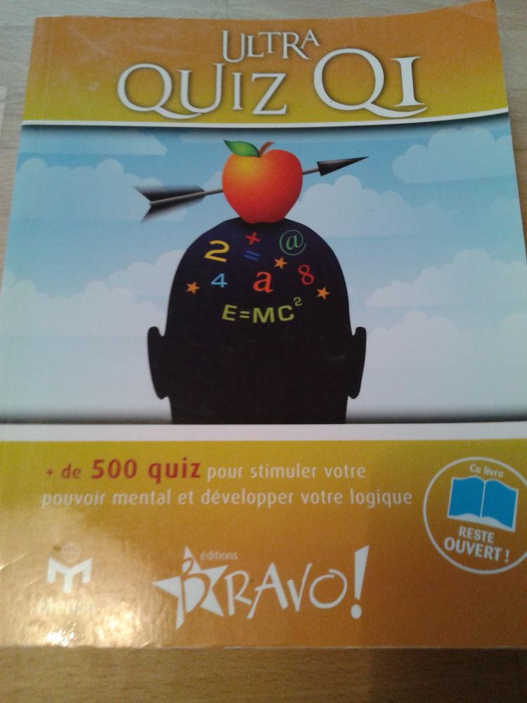 Livre ULTRA QUIZ QI - Editions BRAVO (2009) 2 Saulx-les-Chartreux (91)
