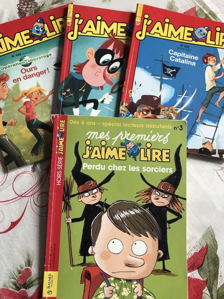 LIVRES 7/10 ANS  J AIME LIRE  BAYARD EDITIONS 4 Saint-Genis-Laval (69)